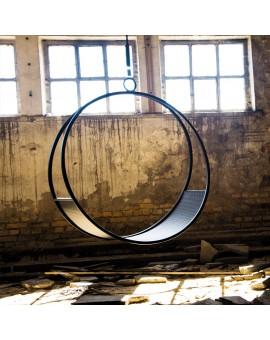 huśtawka metalowa okrągła
